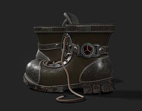 3D asset VR / AR ready Boots suit