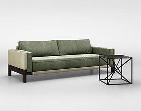 Christophe Delcourt NOE sofa and IXO table 3D