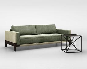 Christophe Delcourt NOE sofa and IXO table 3D