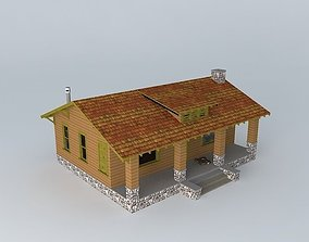 Abandoned Cabin 3D