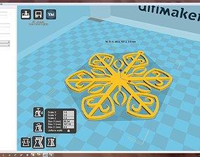3D printable model Snowflake pas-ko