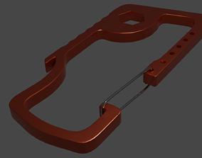 Cabiner V2 Grampo Alpinista 3D asset