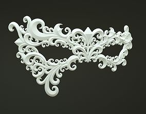 3D print model Carnival Mask