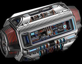 Sci Fi Mega Engine KITBASH 3D model