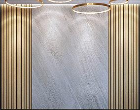 Wall Panel Set 39 3D model