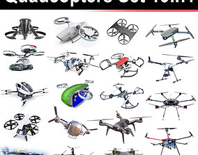 Quadcopters Set 19in1 3D