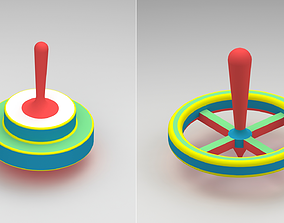 Spinning top 3D print model