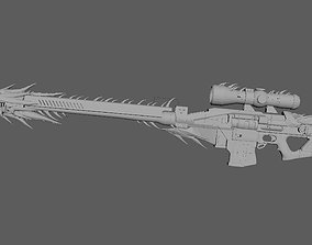 3D print model Whisper of the Worm Barrel and Scope only