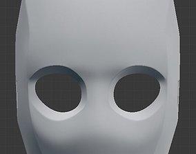 hunter Bounty Hunter cat mask for 3d print