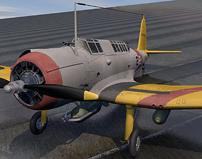 3D Vought SB2U Vindicator