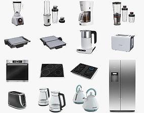 3D Kitchen appliance realistic