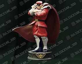 3D print model Street Fighter - M Bison Shadaloo dictator
