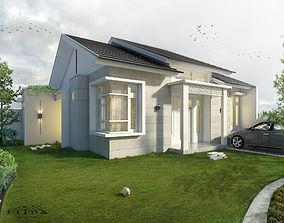 Corner house 3D