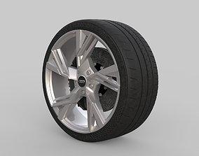 3D Wheel Audi rs6