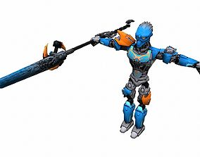 VR / AR ready Game ready Character A9 - max fbx obj 3ds 2
