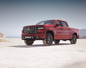 Luxury pickup truck unbranded 3D
