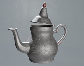Teapot 3D model household