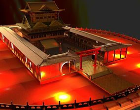 Chinese House 3D asset