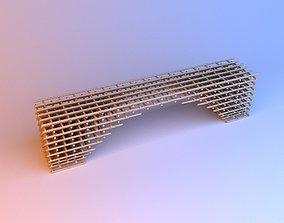 Parametric wood pouf 3D