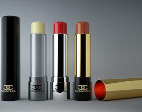 low-poly Lipstick Mockup Pack 3D model
