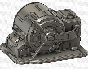 Sci Fi Safe Vault for Wargames 3D print model