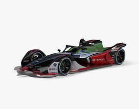 3D model Audi Formula E 2020