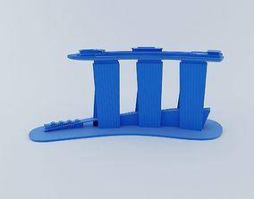 Marina Bay Sand 3D Model