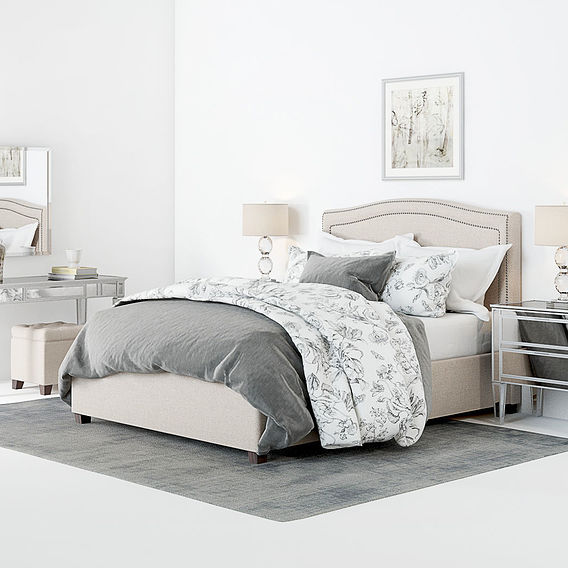 Furniture Visualization - Pottery Barn Tamsen Bedroom set