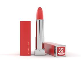Matte Red Lipstick 3D