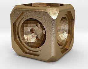 Dice 3D print model luck home