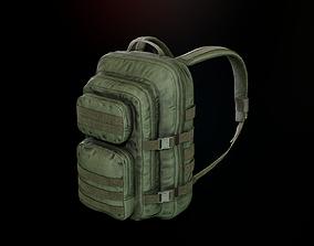 3D asset Tactical backpack