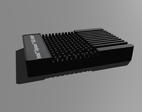 Intel Optane SSD - Hard disk 3D model