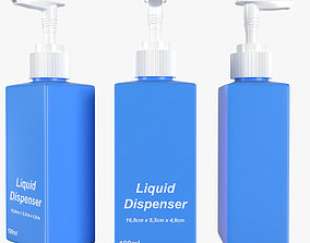 3D model liquid dispenser 190ml
