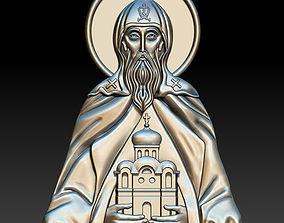 St Daniil Moskowskiy Icon 3D print model