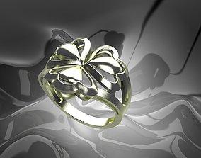 3D print model printable Plain Light Women Ring