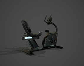 3D model Fitness Bike XTERRA SB250
