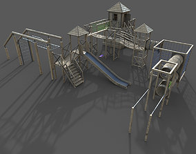 Playground 3D asset game-ready