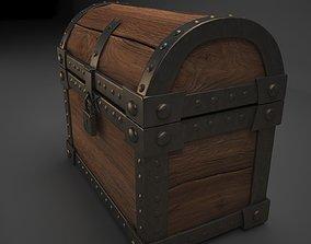 3D print model chest trunk