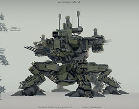 Annihilator mech MK-VI 3D