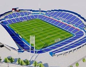 Coliseum Alfonso Perez - Getafe FC 3D model