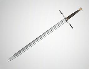 Sword sword warrior 3D