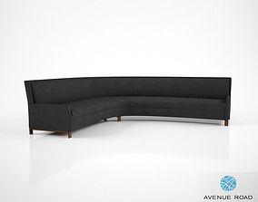 3D model Avenue Road Perry Street Boomerang Sofa