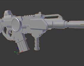 Halo Gun 3D print model