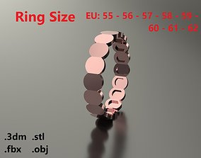 Model 73 Facet Oval Ring Modern EU Size