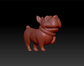 doggy figurines statue 3D printable model