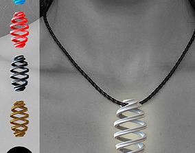 Infinity pendant 3D printable model