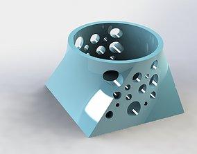 3D print model Juxtaposition Pen Holder Moon