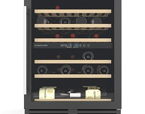 Wine cabinet Dunavox DX51 3D model