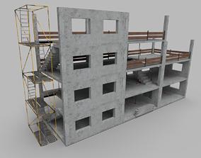 3D asset Building Construction Elements