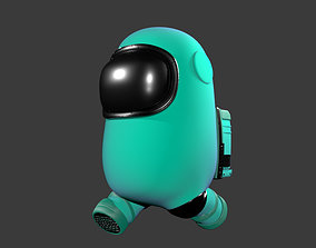 3D Among Us - Character Rigged